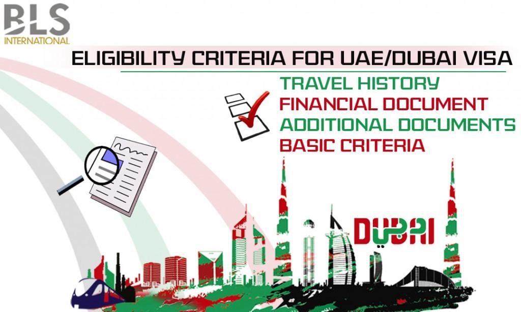 eligibility criteria for dubai visa