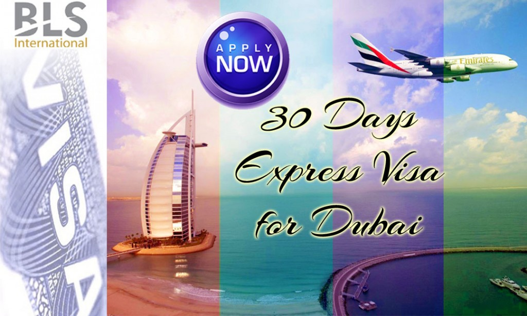 30 Days Express Visa for Dubai
