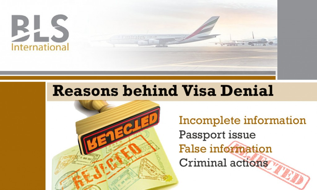 Reasons behind Visa Denial