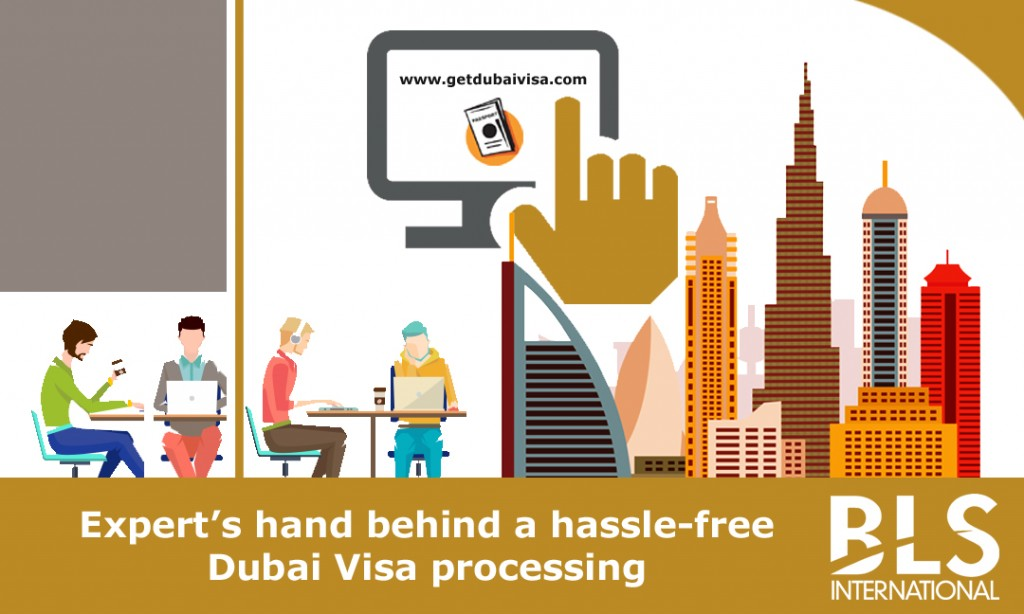 Expert's hand behind a hassle-free Dubai Visa processing